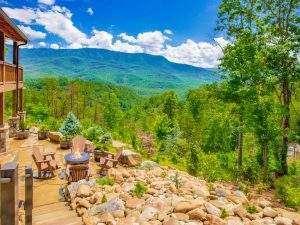 Mountain View Smoky Mountain Sunrise