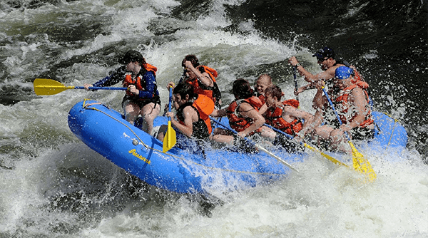 Gatlinburg White Water Rafting for the Entire Family