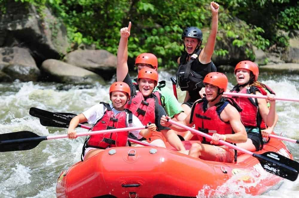 Gatlinburg TN White Water Rafting