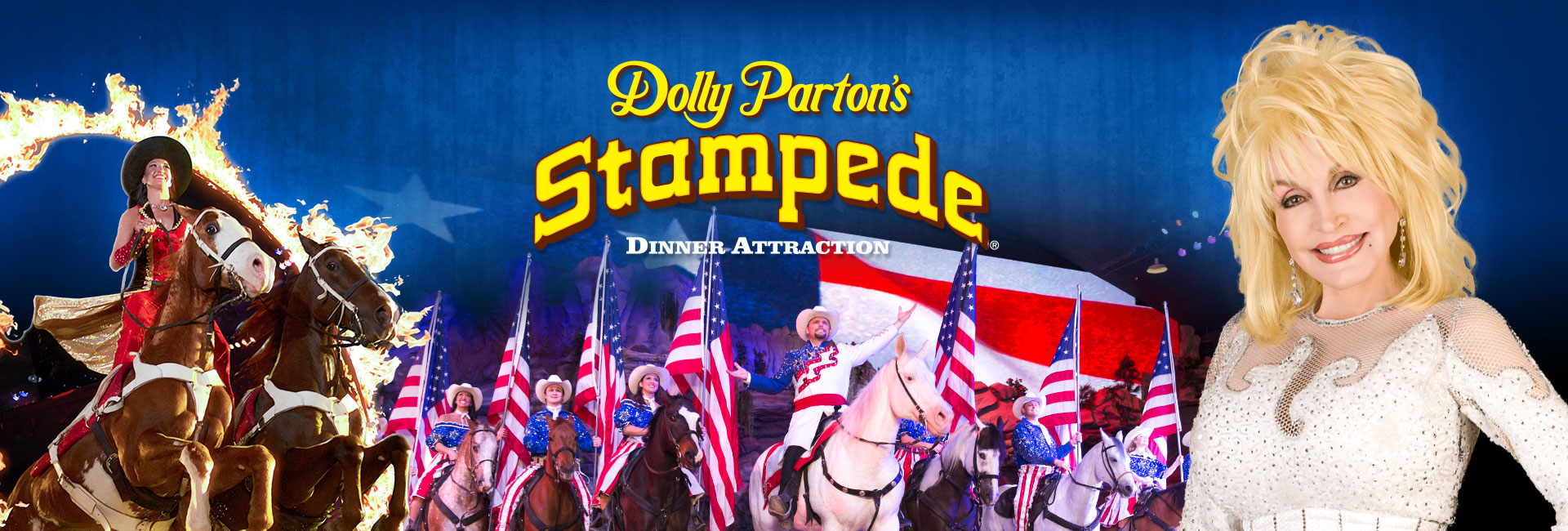 dolly parton dixie stampede dinner show gatlinburg tn