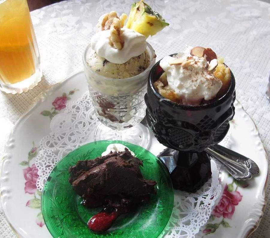 wild plum tea room restaurant Gatlinburg